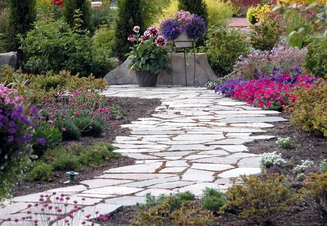 Inexpensive Walkways And Paths | Achieve A Garden Path | Home U0026 Design