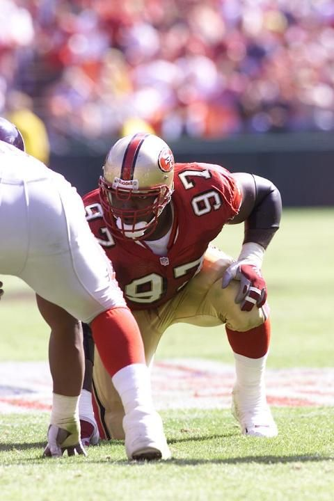 6e7a119e97e 49ers Who Wore Their Number Best -  97 Bryant Young