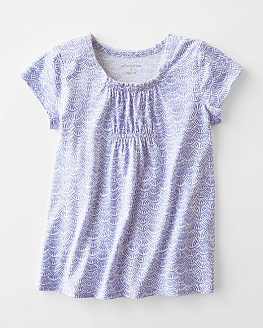 Cap-Sleeve Sleep Top - Girls