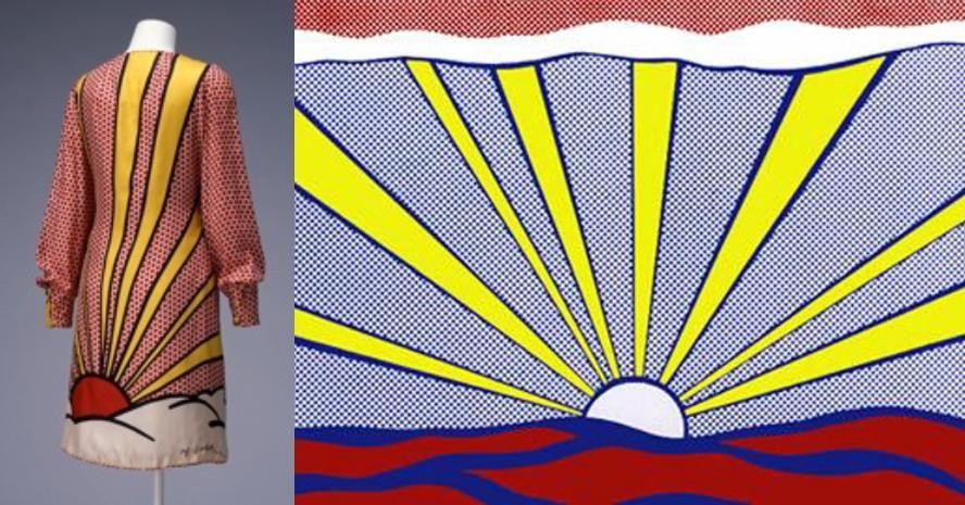 Lichtenstein's dress