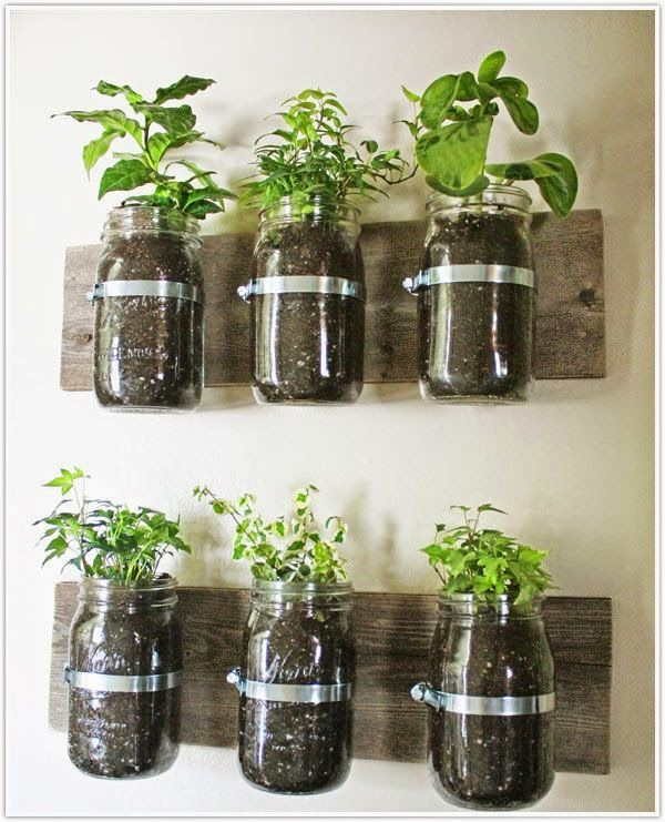15 incredible ideas for indoor herb garden - In House Herb Garden