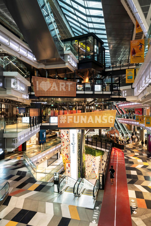 Funan Woods Bagot RETAIL in 2019 Shopping mall