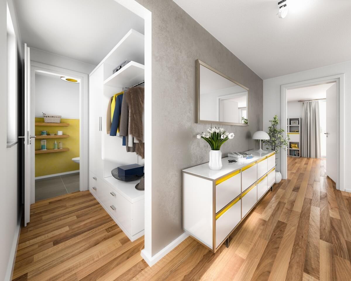 Flur Mit Nische Fur Garderobe Ideen Inneneinrichtung Interior