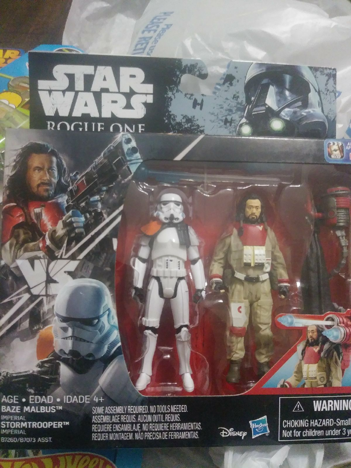 BAZE MALBUS /& IMPERIAL STORMTROOPER STAR WARS ROGUE ONE