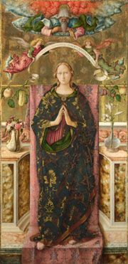 The Immaculate Conception, 1492, Carlo Crivelli. (National Gallery)