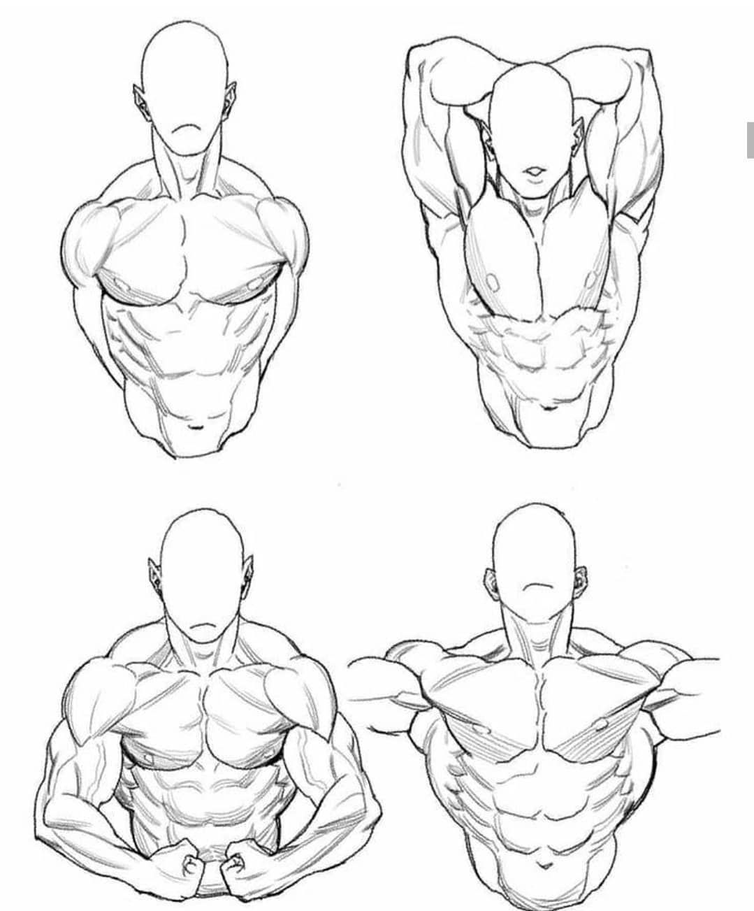 how to draw a buff guy - YouTube