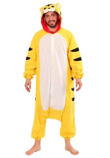Have an appetite for something more ferocious to wear  Stand out on your  adventures when you wear this Fierce Yellow Tiger Kigurumi! b2b082088