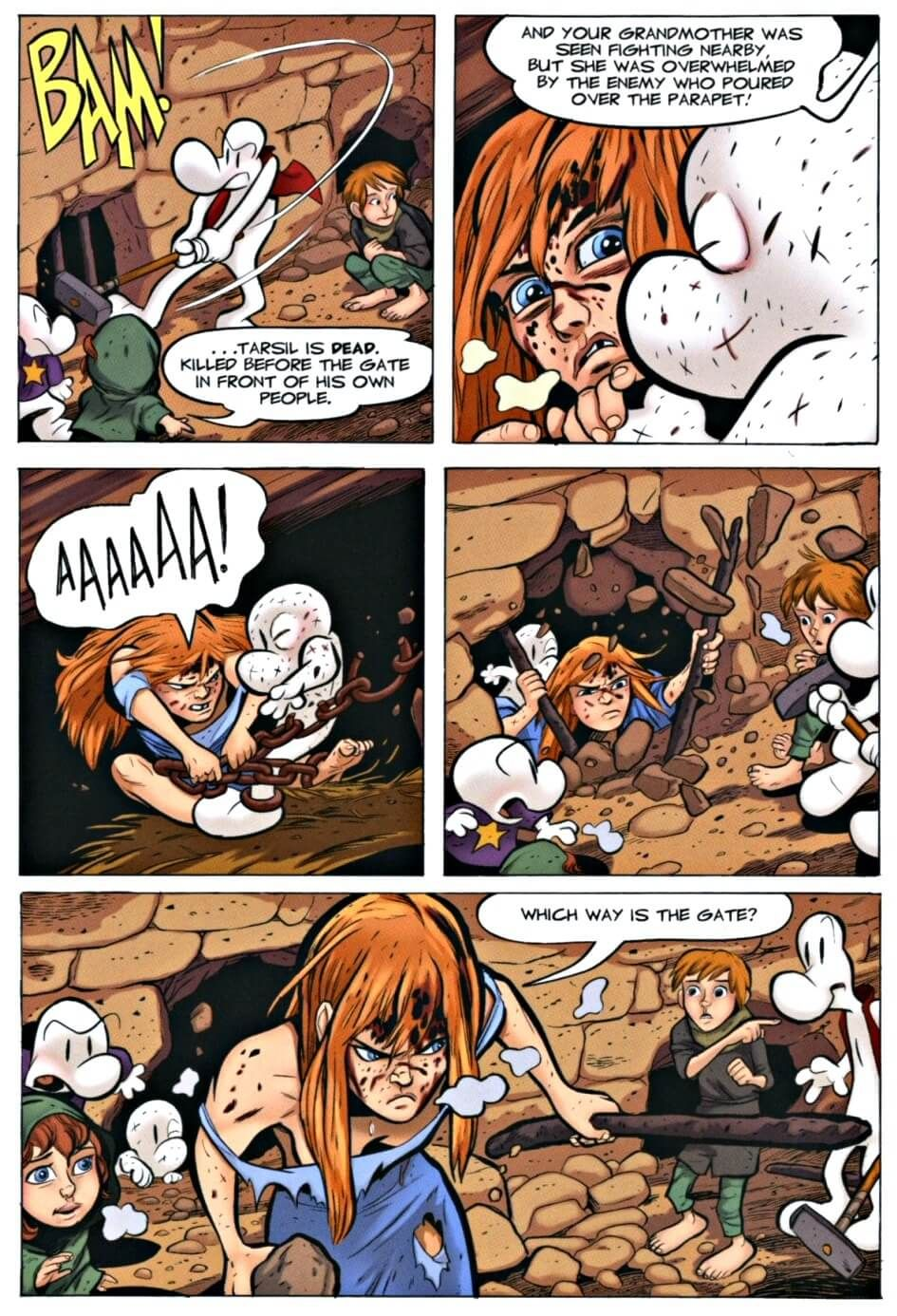 Page 45 Read Online Bone 9 Crown Of Horns Graphic Novel By Jeff Smith Graphic Novel Bone Books Bone Comic