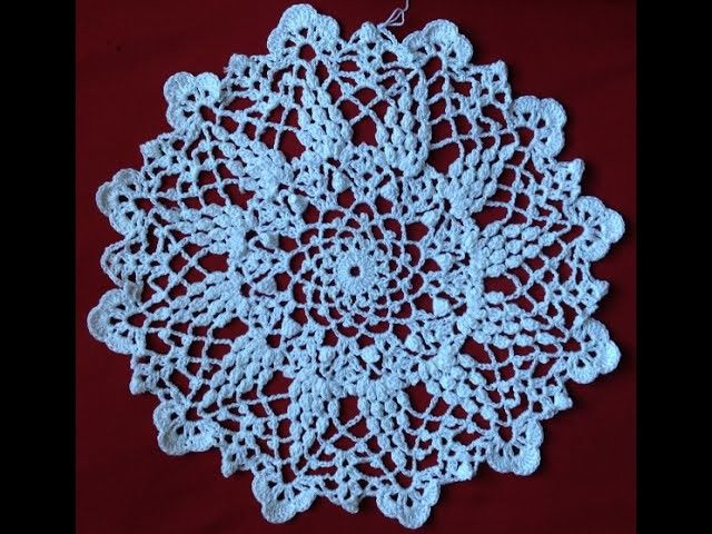 Crochet Grape Harvest Doily Part 4