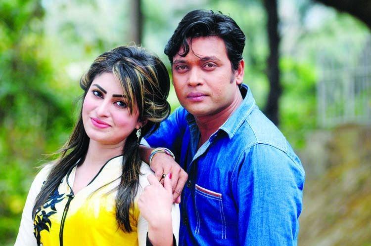 Bangladeshi Actor Anisur Rahman Milon With Shokh Singer Hero