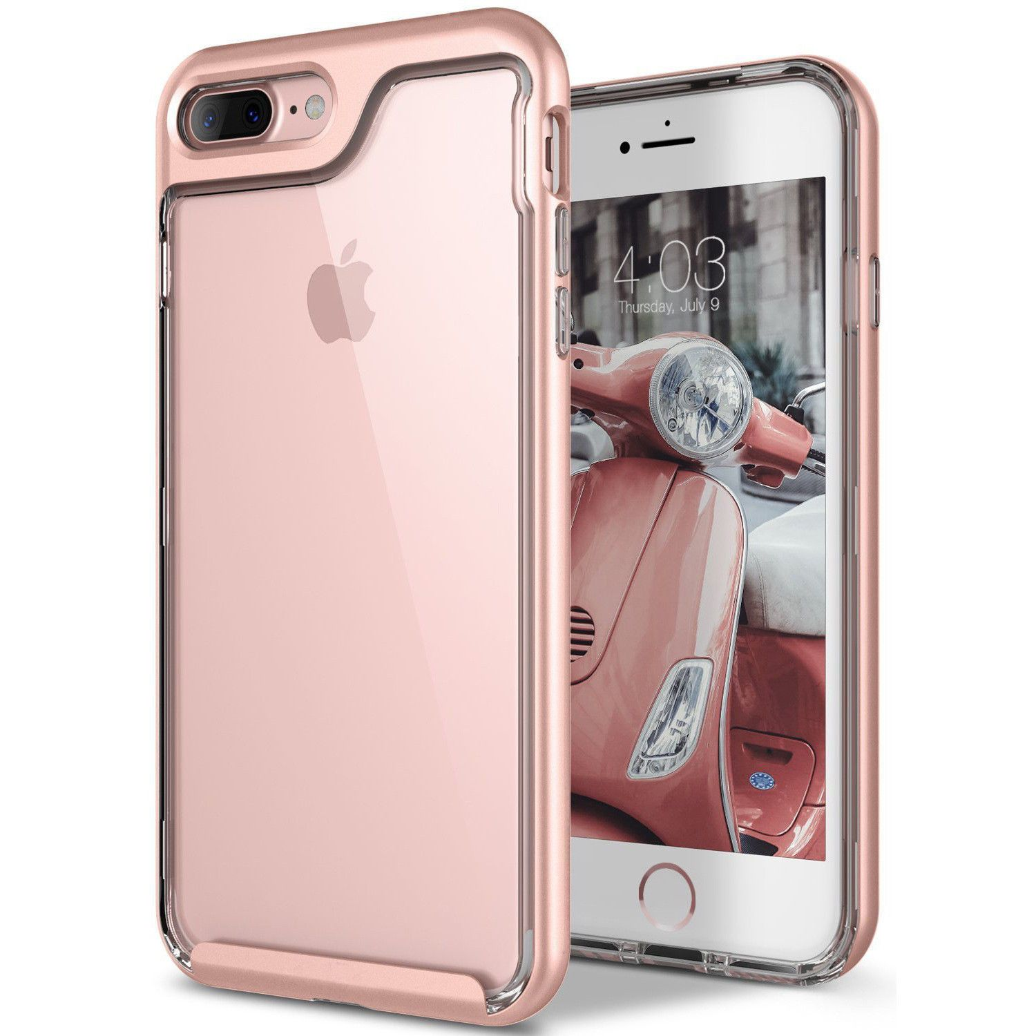 1a642b199f Clear Slim Scratch Resistant Cover Drop Protection Case For Iphone 8 7 6S 6  Plus