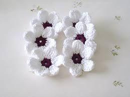 Häkelblumen Anleitung Kostenlos Google Suche Flowers1