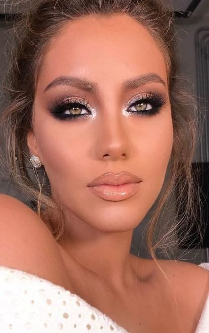 62+ Trendy makeup prom dramatic glitter -   8 makeup Morenas glitter ideas