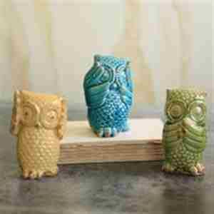 See, hear, and speak no evil owls!
