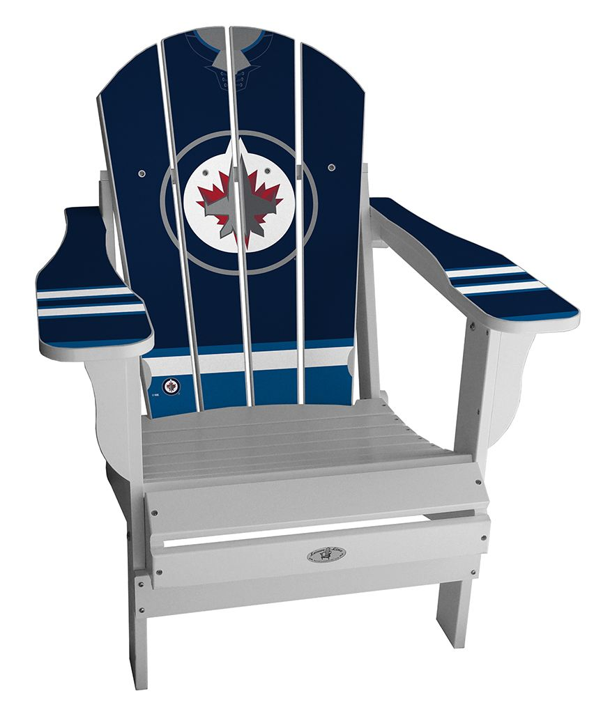 bd0e0236b5f Custom Winnipeg Jets Jersey chair!  winnipeg  jets  nhl  hockey  playoffs