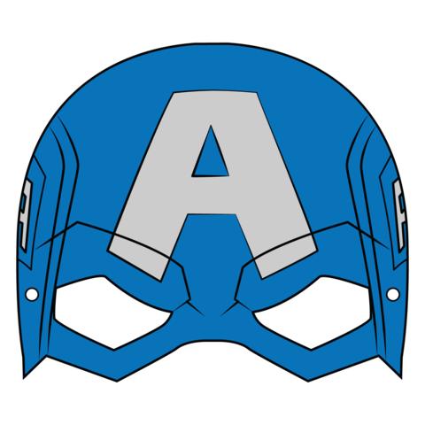 Captain America Mask Template Paper Craft Captain America Mask Captain America Drawing Captain America Wallpaper