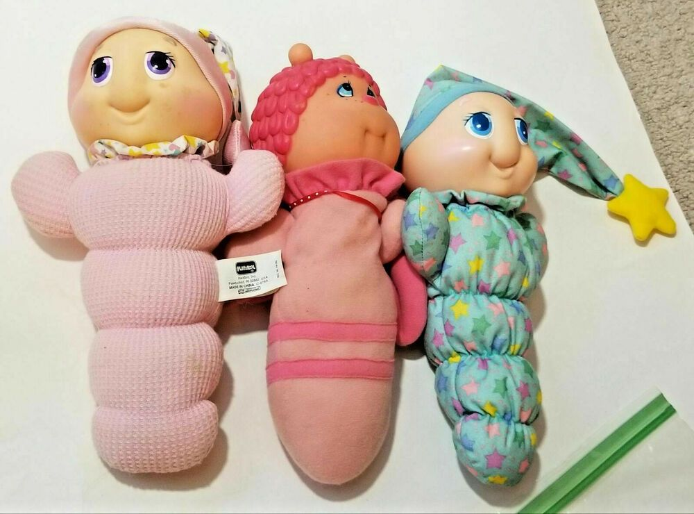 Playskool vintage 1990s toys Glow Worms And Butterfly ...