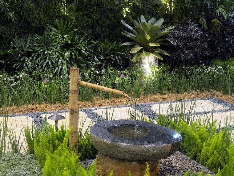 Jardines zen 25 ideas de paisajismo de estilo oriental - Fuentes para jardin exterior ...