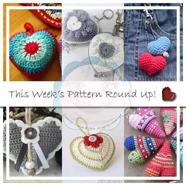 Creative Crochet Workshop: This Week\'s Pattern Round Up #33 . Hearts ...