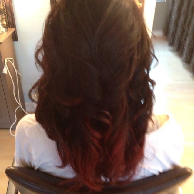 Mywork red ombre