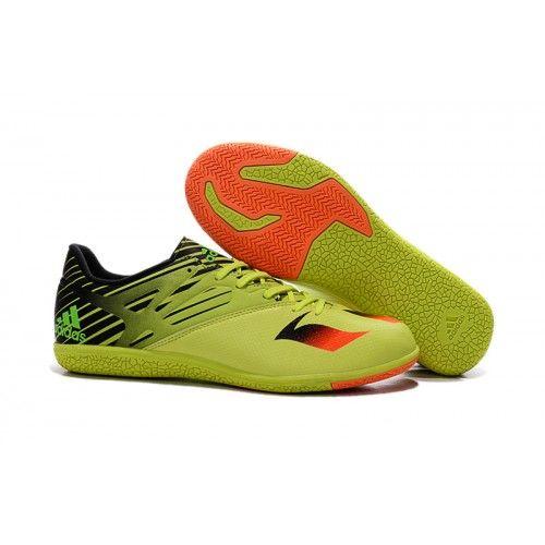 best sneakers 7979b b6456 Tienda botas de futbol de Adidas Messi Gris,Adidas MESSI 15.3 IN Botas de  fútbol amarillo brillante amarillo naranja