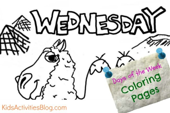 Wednesday Coloring Page Kid activities, Activities and Preschool - fresh coloring pages children's rights