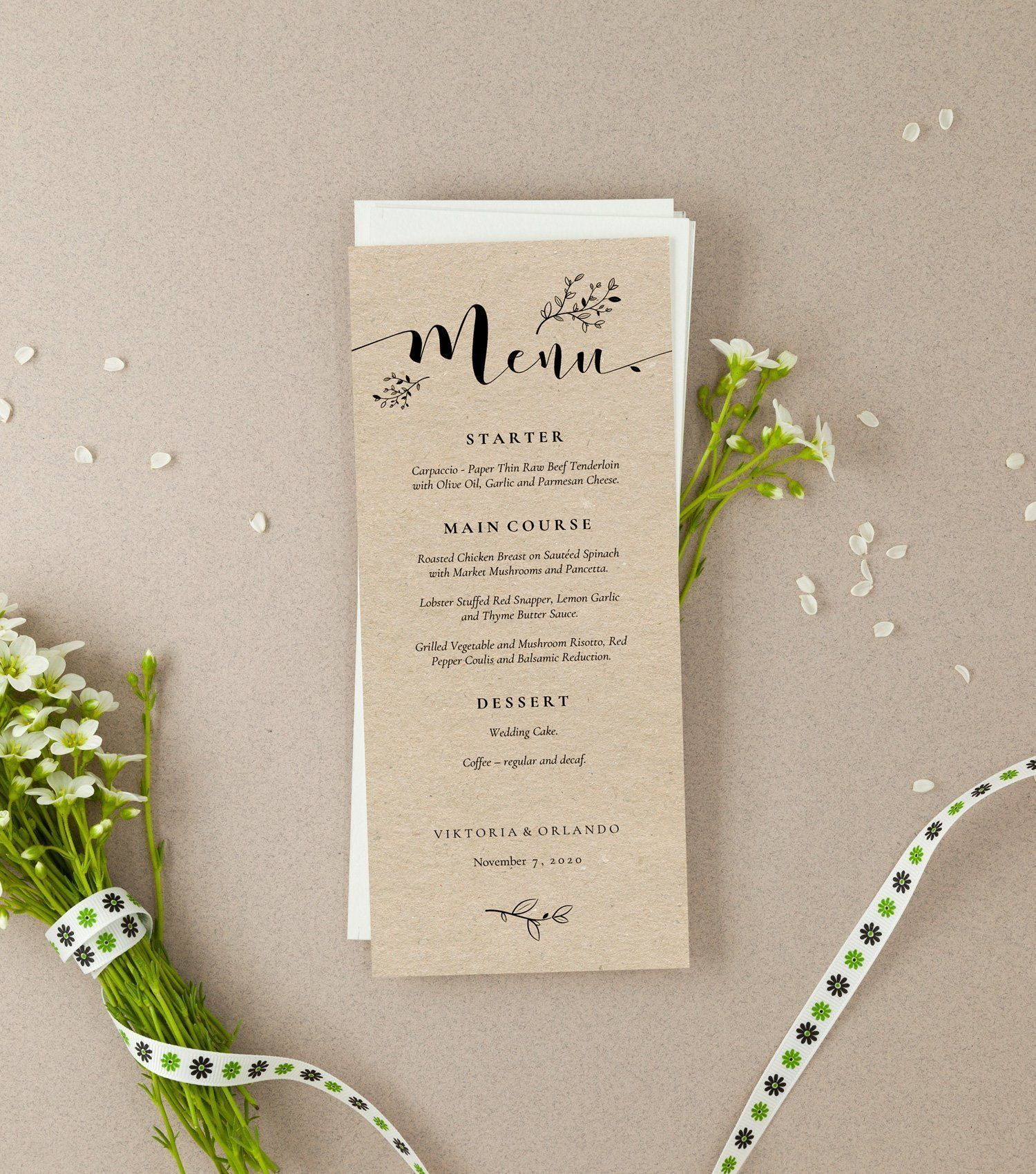 Rustic Wedding Menu Template, Floral Kraft Menu Template, Printable Menu, Editable PDF Template, Rustic Wedding Menu Card, AB07_02_009 #weddingmenutemplate Rustic Wedding Menu Template, Sophie, Floral Kraft Menu Template, Printable Menu, Editable PDF Template, Rustic Wedding Menu Card, AB07-4 by AliceBluefox on Etsy #weddingmenutemplate Rustic Wedding Menu Template, Floral Kraft Menu Template, Printable Menu, Editable PDF Template, Rustic Wedding Menu Card, AB07_02_009 #weddingmenutemplate Rusti #weddingmenutemplate