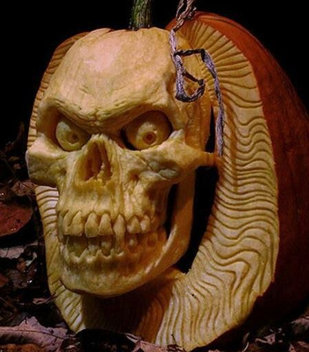 Incredible 3D pumpkin!!