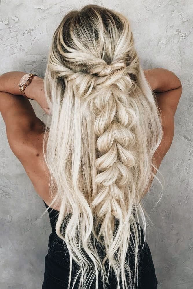 Cute Braid Hairstyles Mesmerizing Pinjordyn Schott On Hair  Pinterest  Hair Style Prom Hair And