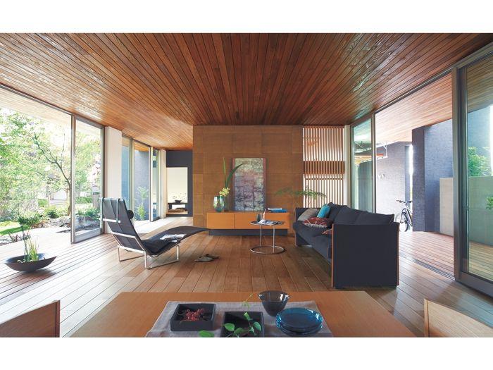 リビング 板張り天井 イメージ 家 住宅 アジアの家