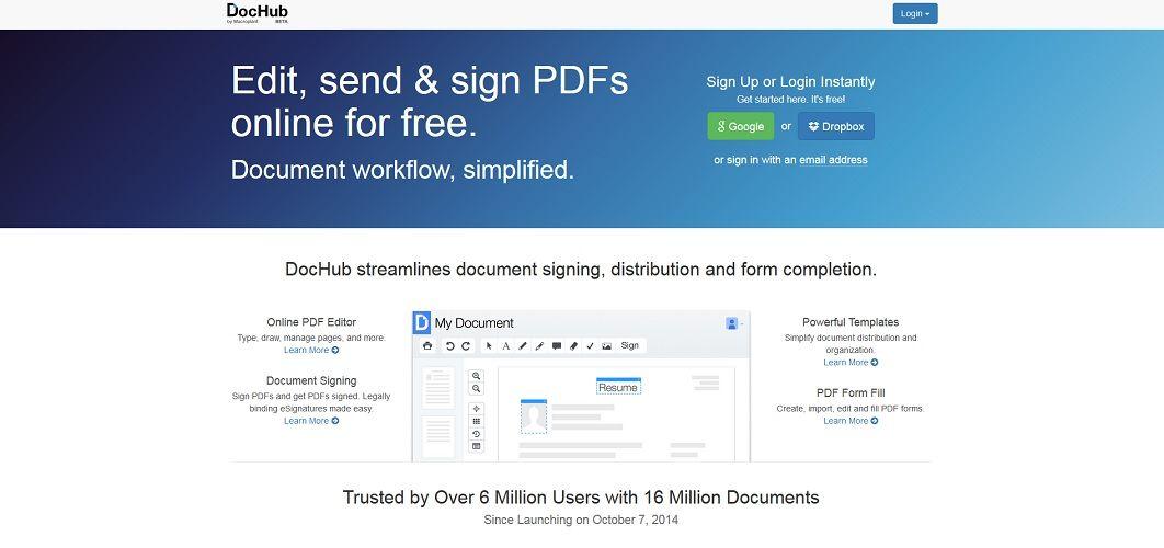 doc hub pdf editor
