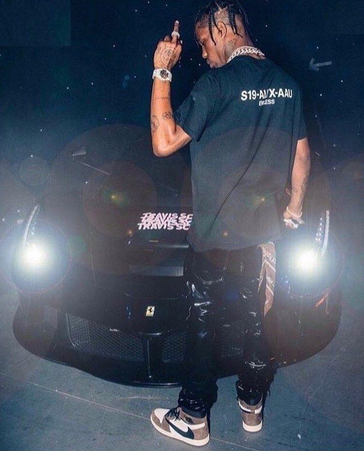 Travis Scott X Jordan 1 Backwards Swoosh Mocha In 2020 Travis Scott Outfits Travis Scott Fashion Travis Scott Wallpapers