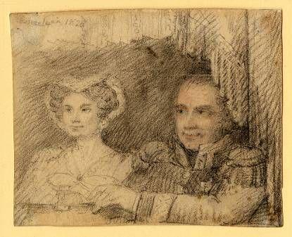 In de Muntschouwburg te Brussel, 1820