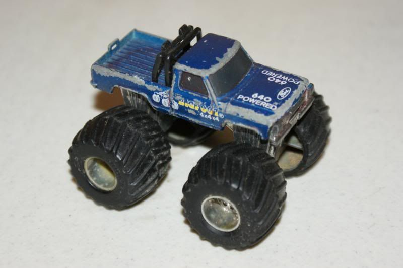 Matchbox Superchargers Bigfoot I Have This Truck In Slightly