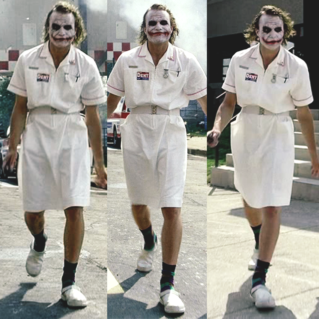 06d166748ab15 Joker Heath Ledger Costume, Heath Ledger Joker Makeup, Joker Nurse Costume,  Joker Cosplay