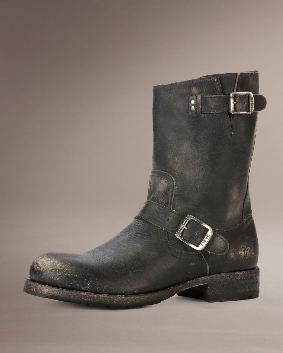 frye s rogan engineer boot black jouet