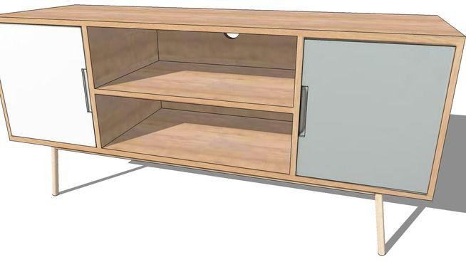 Pin By Mustafa Eldemerdash On Sketchup Model Furniture Table Sketch Interior