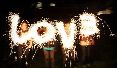 Fireworks Love