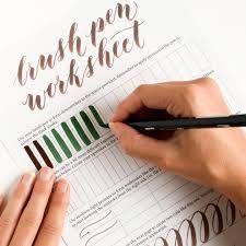 Resultado de imagem para free calligraphy worksheets printable