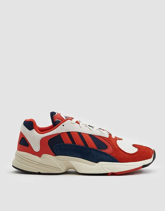 ... buy online Adidas Yung-1 Sneaker in Core White Core Black Navy shoes .  ... 5a7dd5547