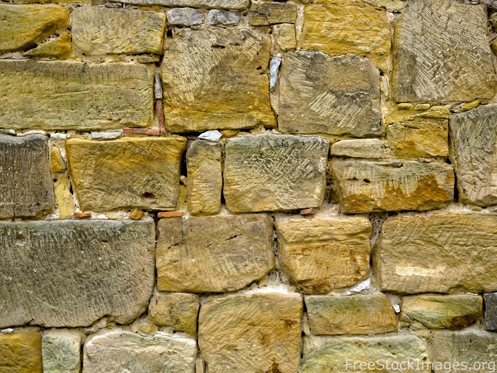 Tool marks and colors on a stone wall. | Textures | Pinterest ...