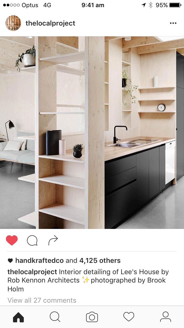 Kitchen   Kitchn   Pinterest   Kitchens, Plywood and Interiors