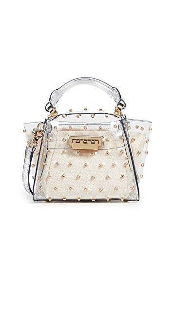 Eartha Mini Crystal Lady Top Handle Bag Top Handle Bag