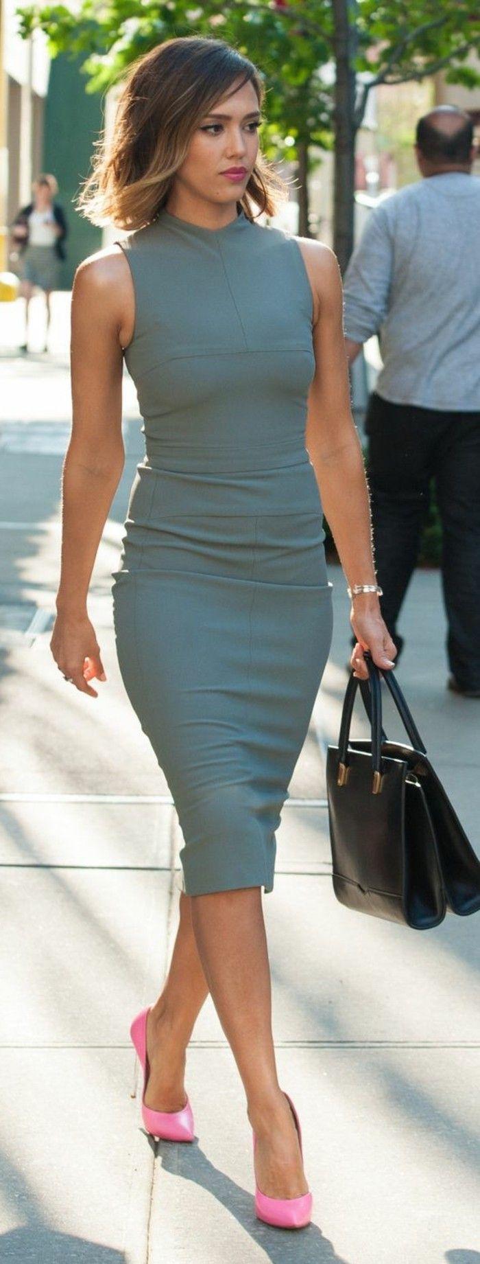 Die Richtigen Business Kleider Machen Karriere Business Kleider Etuikleid Business Kleidung Damen