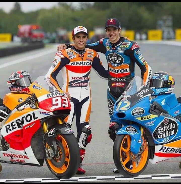 Honda Brothers Marc And Alex Marquez Moto3 And Moto Gp
