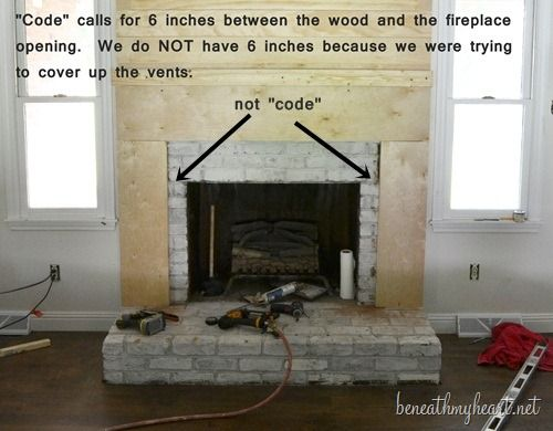 How To Build A Fireplace Surround Beneath My Heart Build A Fireplace Fireplace Surrounds Fireplace