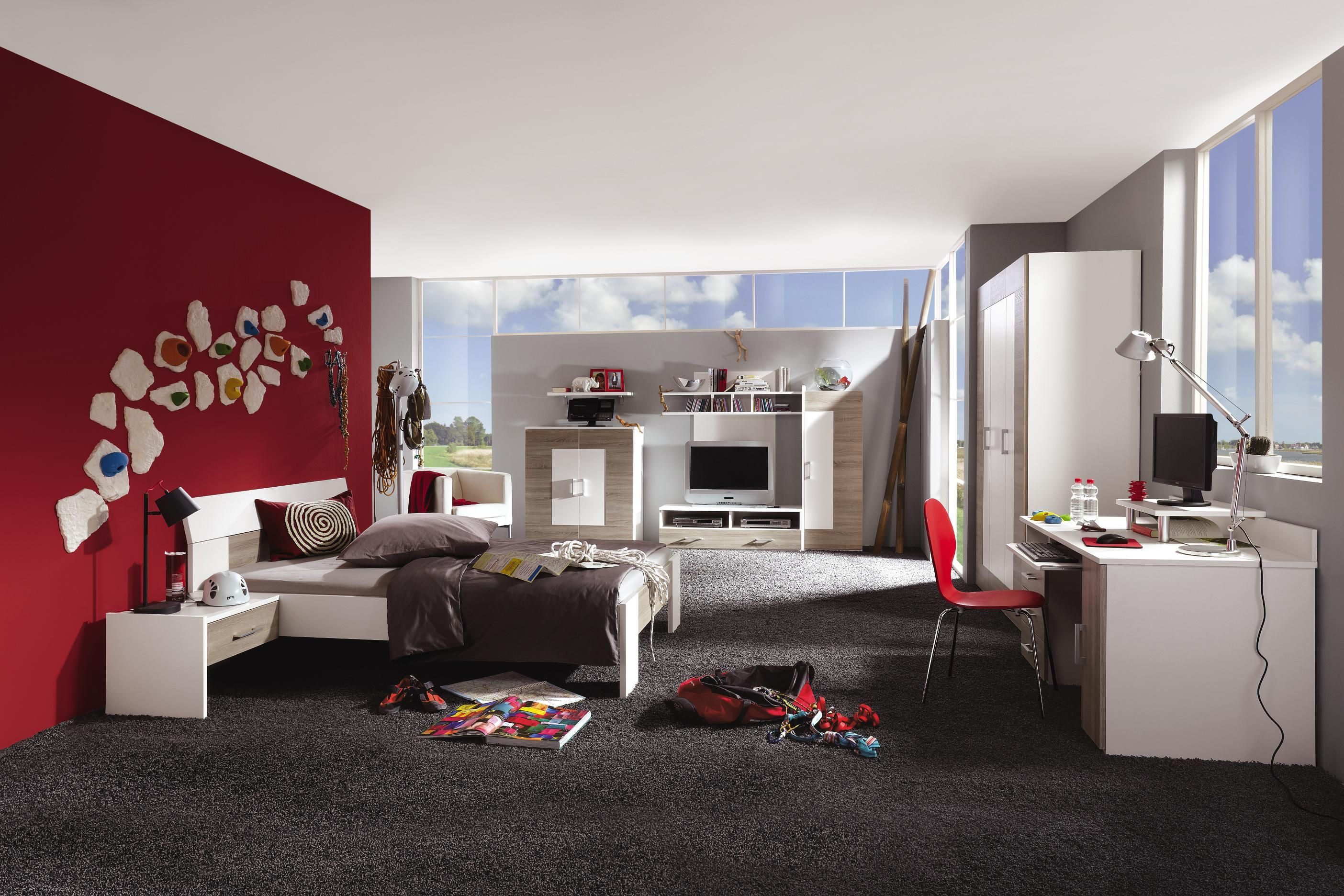 Helles Jugendzimmer Stauraum Und Funktionalitat Im Besten Design