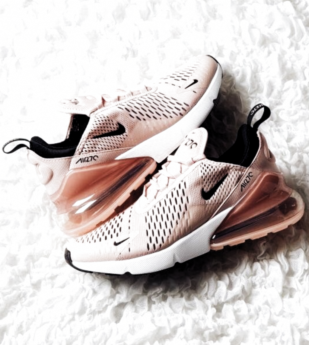 Nike Womens Air Max 270 Low-Top Sneakers | coral and pink nike shoes women | bes…