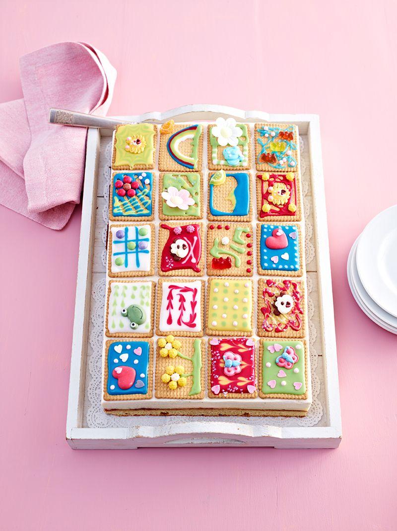 Butterkeks Kuchen Rezept Blechkuchen Rezepte Pinterest