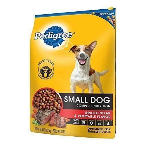 Pedigree Small Dog Complete Nutrition Grilled Steak Vegetable